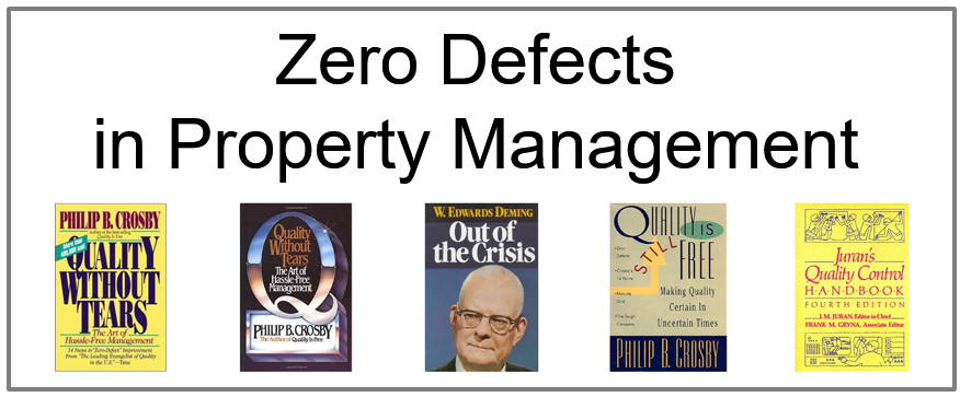 Zero Defects in Property Management