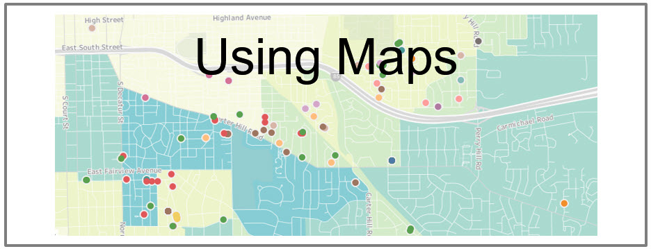 Maps and Real Estate Analytics