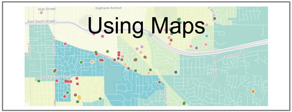 real estate analytics maps, portfolio analysis