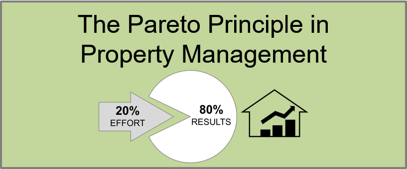 80 20 rule property management pareto