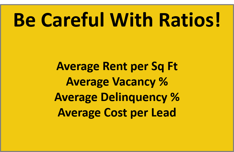Ratios in Property Management Dashboards
