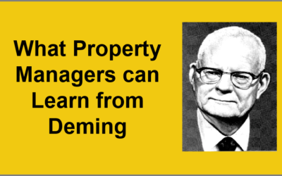 What Property Managers can Learn from Deming